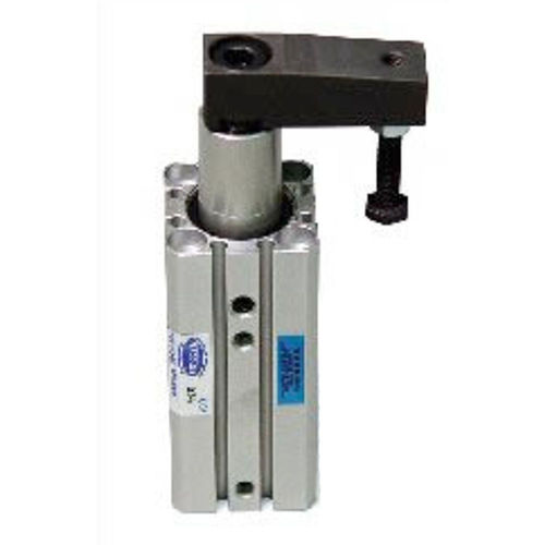 pneumatic clamp / swing / aluminum