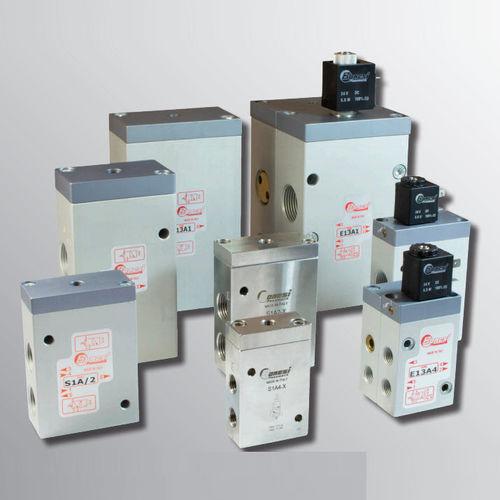 poppet pneumatic directional control valve / pneumatic / 3/2 / 5/2
