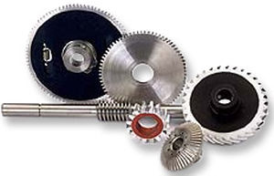 spur gear / straight-toothed / steel / precision