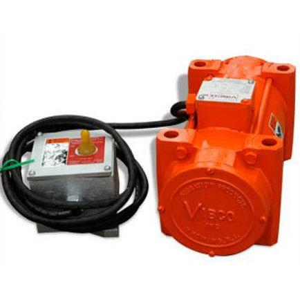 electric vibrator / for concrete / external / explosion-proof