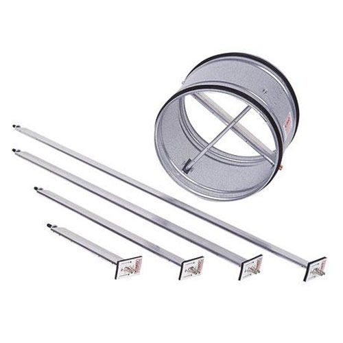 air flow measuring blade with Pitot tube