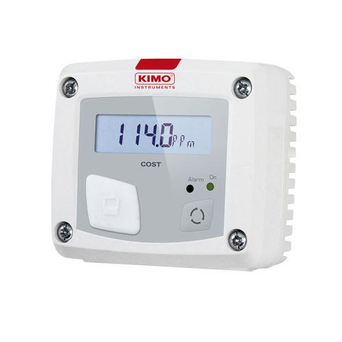 CO gas sensor / infrared / for leak detection