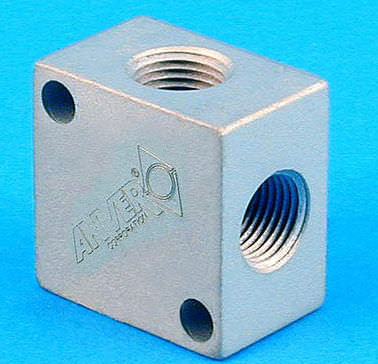 multi-channel manifold / aluminum / distribution / for vacuum