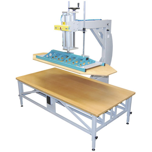 pneumatic press / compression / upholstery