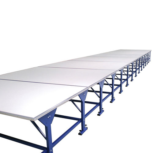 fabric cutting table / for cutting rooms