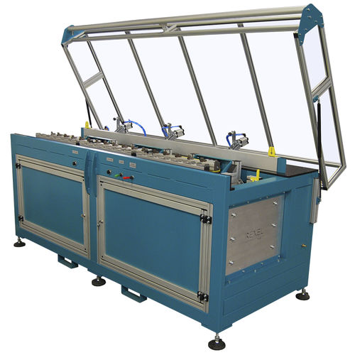 manual assembly machine / semi-automatic / for industrial applications / custom