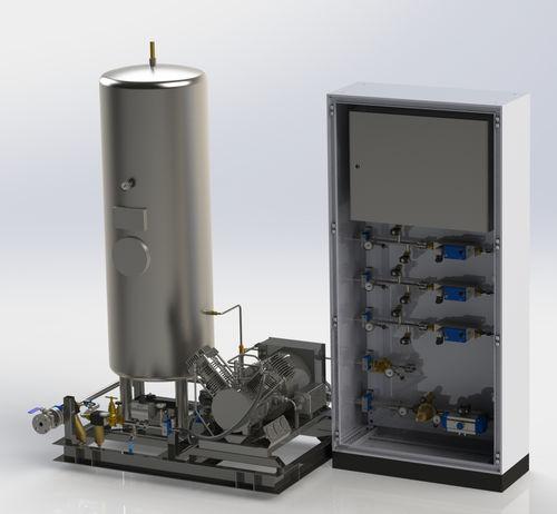 gas control unit