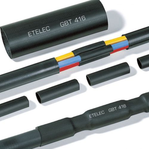 heat-shrinkable cable joint / insulated / plastic / for low-voltage cables