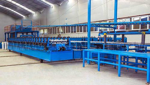 PUR sandwich panel production line