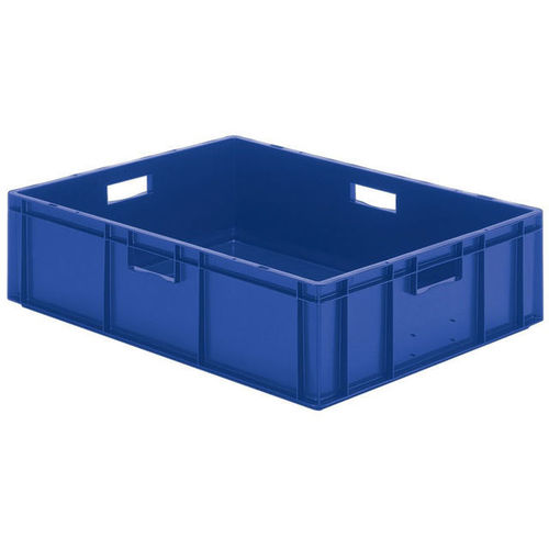 PP crate / transport / stacking / with handles