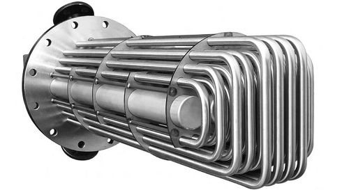 tubular heat exchanger / liquid/liquid / stainless steel / corrosion-resistant