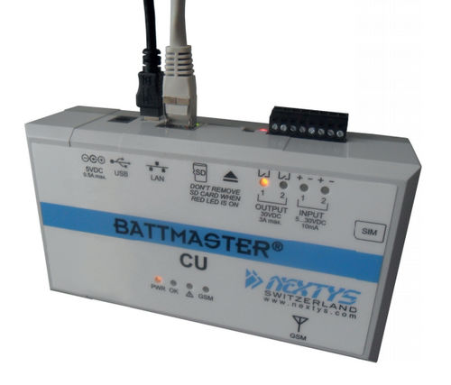 battery monitoring remote monitoring system