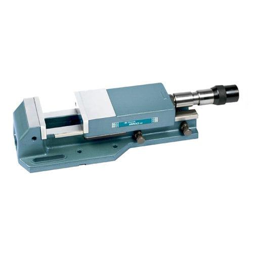 machine tool vise / hydraulic / horizontal / rotary