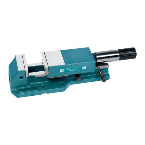 machine tool vise / horizontal / high-pressure / with base plate