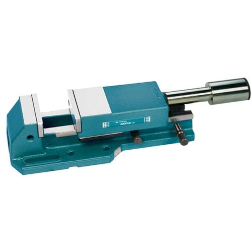 machine tool vise / hydraulic / horizontal / high-pressure