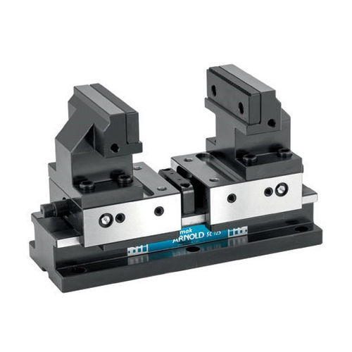 machine tool vise / 5-axis / self-centering / compact