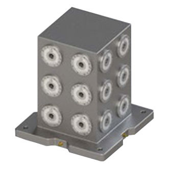 round zero-point clamping system
