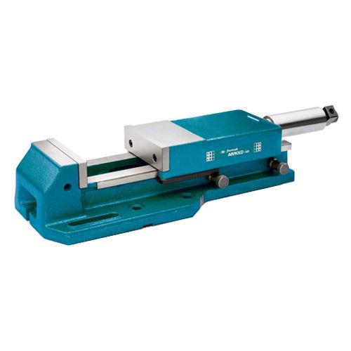 machine tool vise / hydraulic / spring / rotary