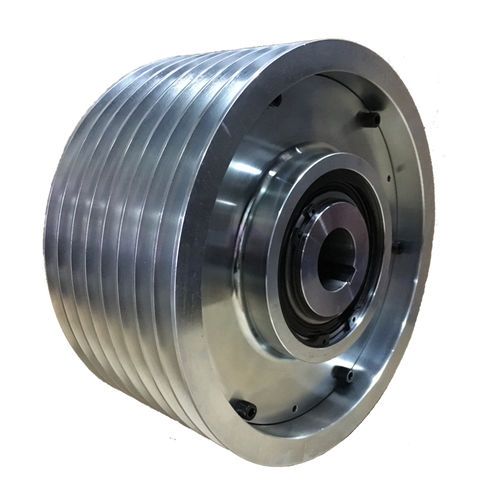 friction clutch / multiple-disc / pneumatic / spring