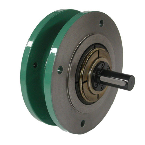 centrifugal brake / mechanical / shaft-mounted / failsafe