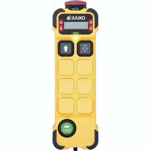 radio remote control / with configurable buttons / 2-button / with emergency stop