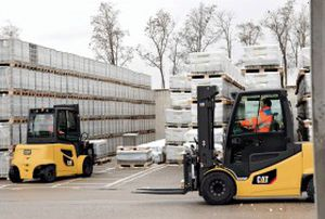 electric forklift / ride-on / for the food industry / for the automotive industry
