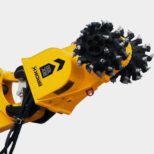 hydraulic cutter head for excavator