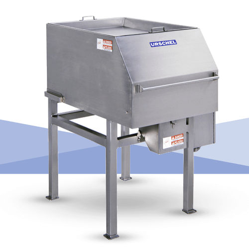 stainless steel dicer / for continuous operation