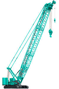 crawler crane / boom / hydraulic / for heavy-duty applications