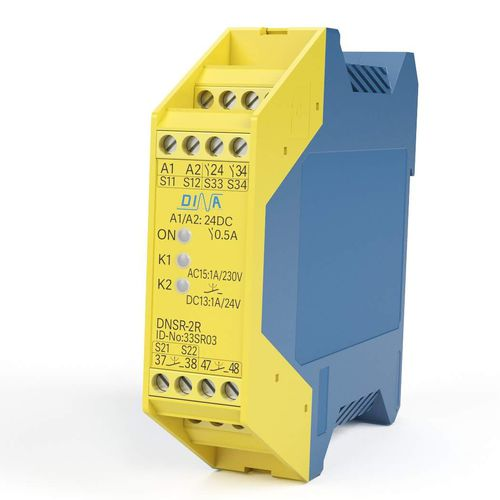 emergency stop monitoring relay