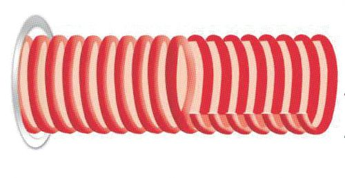 alcohol hose / suction / for the food industry / PVC
