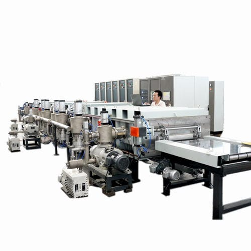 sputtering deposition machine / online / for mirrors / for reflective glass
