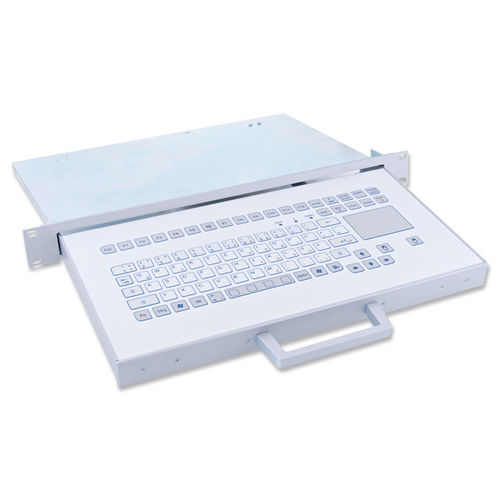 rack drawer keyboard / capacitive / 88-key / with touchpad