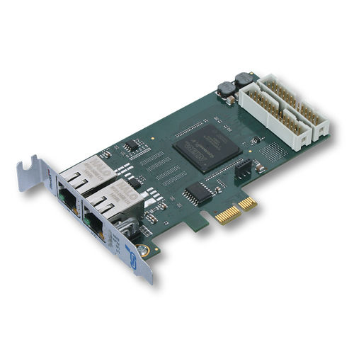 PCI Express communication interface card / EtherCAT / industrial / slave