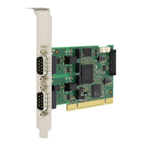PCI interface card / CAN / industrial / low-profile