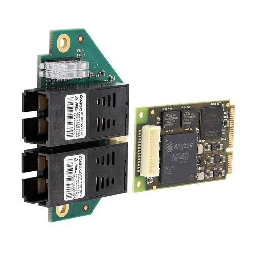 Mini PCI Express interface card / Ethernet / for fiber optics / ProfiNet