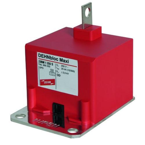 type 1 surge arrester / compact / single-pole / coordinated