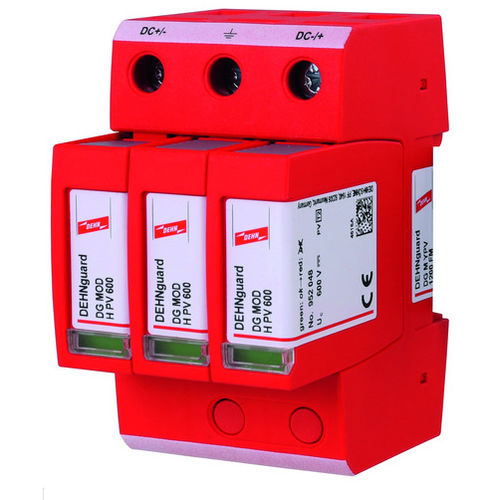 type 2 surge arrester / modular / DIN rail / plug-in