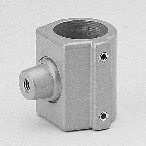 round tube connector / aluminum alloy / tube holder