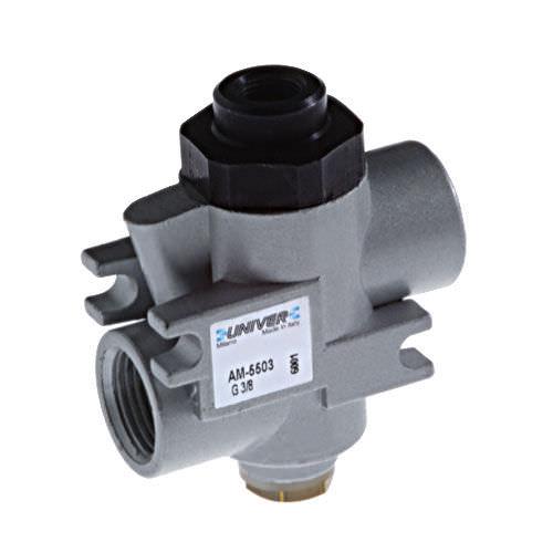 ball valve / pneumatically-operated / blocking / bidirectional