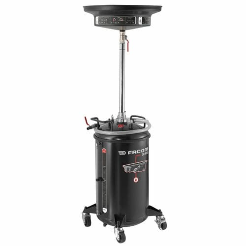 oil drainer on casters