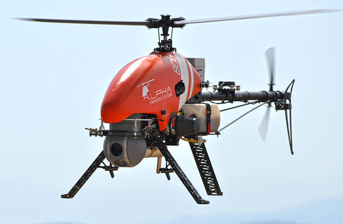 helicopter UAV / inspection / monitoring / for agricultural applications