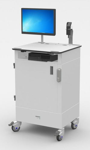 mobile computer workstation / USB / industrial