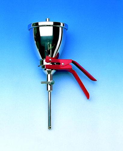 strainer filter / laboratory / vacuum / dry