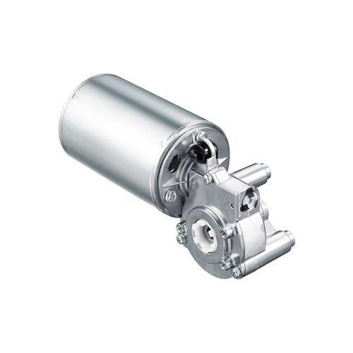 DC electric gearmotor / 24V / orthogonal / gear train