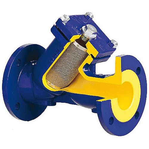 Y-strainer filter / water / oil / for steam