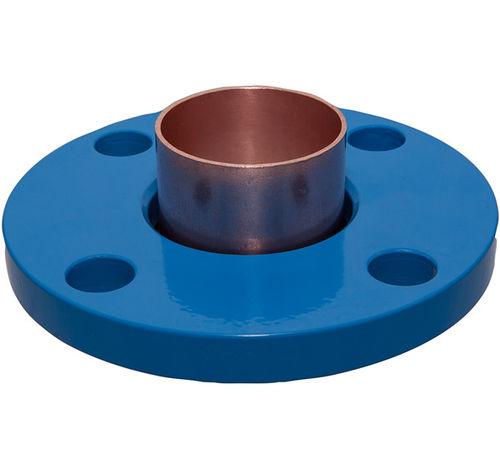 pipe flange / steel / solid