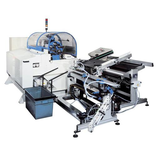 pipe-end forming machine / metal / automatic