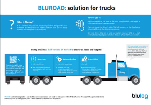 truck monitoring system - blulog