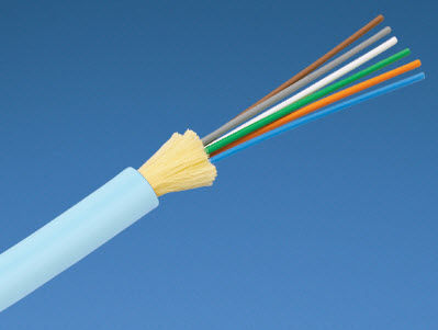 optical data cable / round / halogen-free / for indoor use